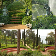 open garden tour Lloret de Mar