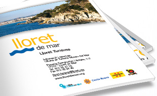 Brochures and tourist guides from Lloret