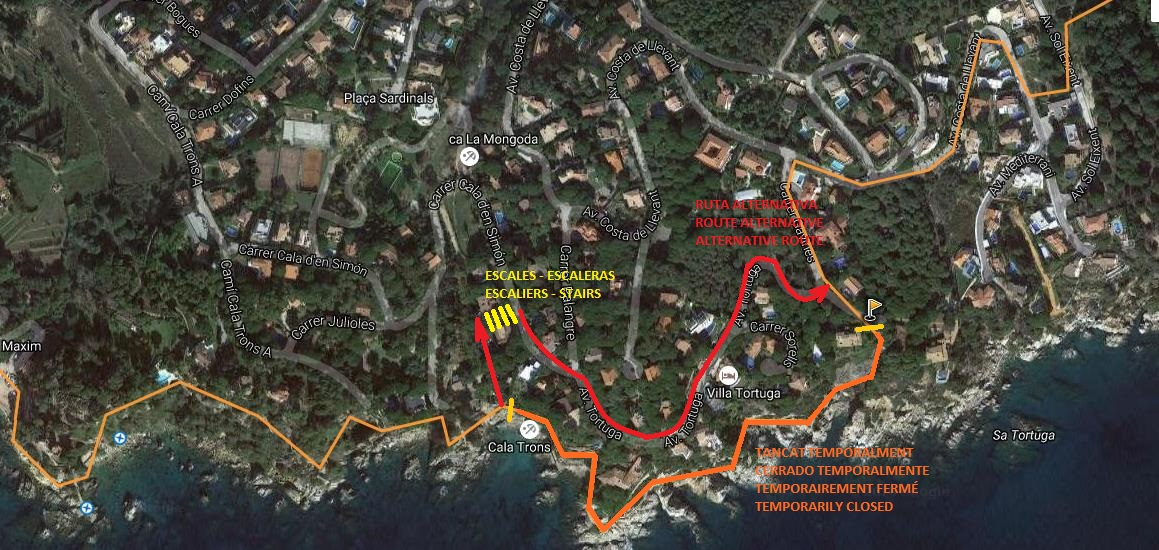Hiking and nordic walking active adventure activities what to route of lloret beaches fandeluxe Gallery